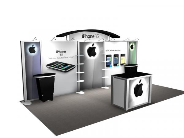 RE-2009 Rental Exhibit / 10� x 20� Inline Trade Show Display � Image 3