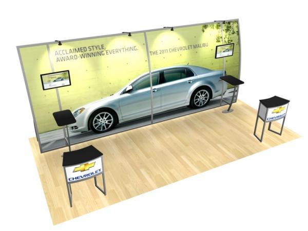 RE-2011 Rental Exhibit / 10� x 20� Inline Trade Show Display � Image 3