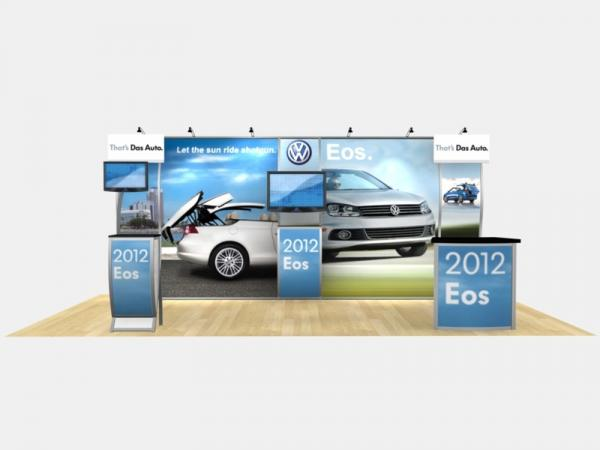 RE-2004 Rental Exhibit / 10' x 20' Inline Trade Show Display � Image 3