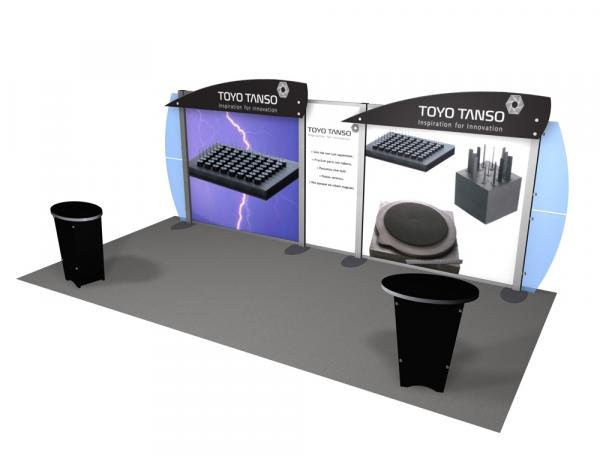 RE-2014 Rental Exhibit / 10� x 20� Inline Trade Show Display � Image 2